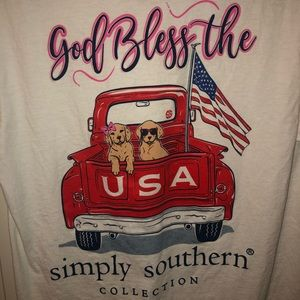 Simply Southern 🇺🇸 tee